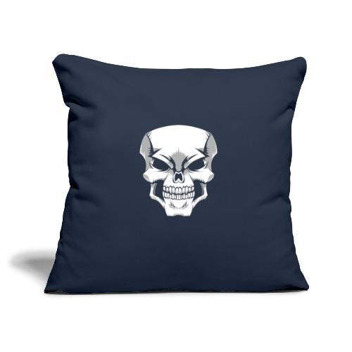 Skull - Funda de cojín, 45 x 45 cm