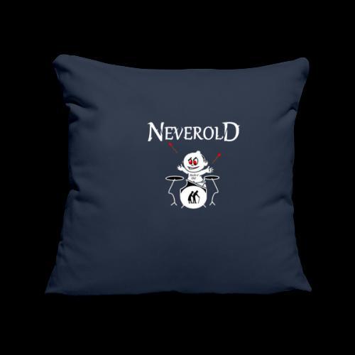 LOGO NEVEROLD - Housse de coussin décorative 45x 45cm