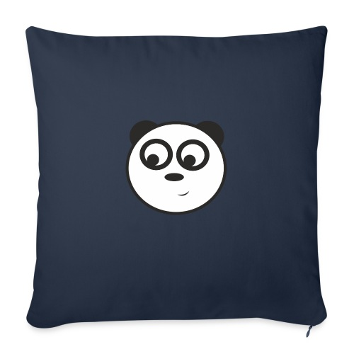 panda face /cara de panda - Funda de cojín, 45 x 45 cm