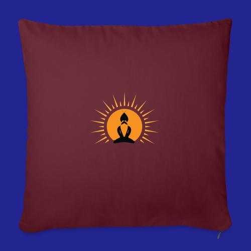 Guramylyfe logo no text black - Sofa pillowcase 17,3'' x 17,3'' (45 x 45 cm)