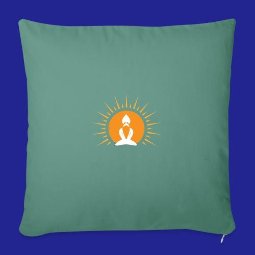 Guramylyfe logo white no text - Sofa pillowcase 17,3'' x 17,3'' (45 x 45 cm)