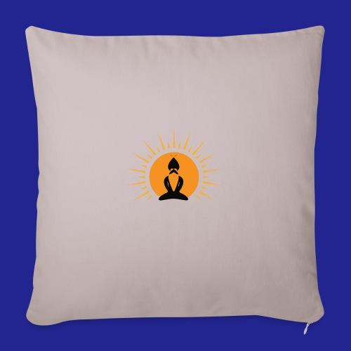Guramylife logo black - Sofa pillowcase 17,3'' x 17,3'' (45 x 45 cm)