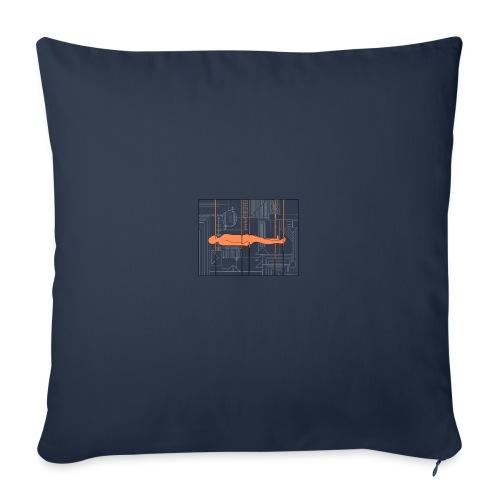 DIAGRAMME - Housse de coussin décorative 45x 45cm