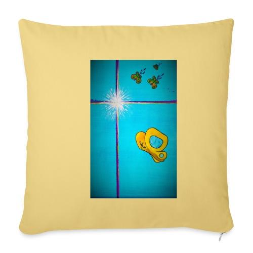 'Toivo Kultaisessa-leikkauksessa' - Sohvatyynyn päällinen 45 x 45 cm
