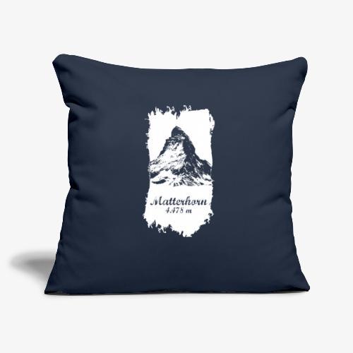 Matterhorn - Cervino - Sofa pillowcase 17,3'' x 17,3'' (45 x 45 cm)