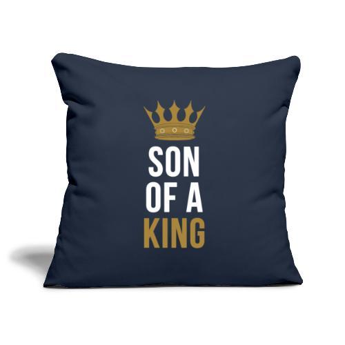 Son of a King Vater Sohn partnerlook - Sofakissenbezug 44 x 44 cm