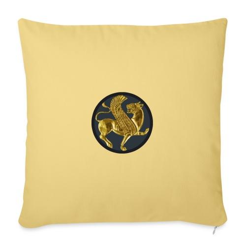 Lion ailé - Housse de coussin décorative 45x 45cm