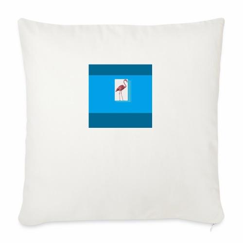 Flamingoscotteri - Copricuscino per divano, 45 x 45 cm