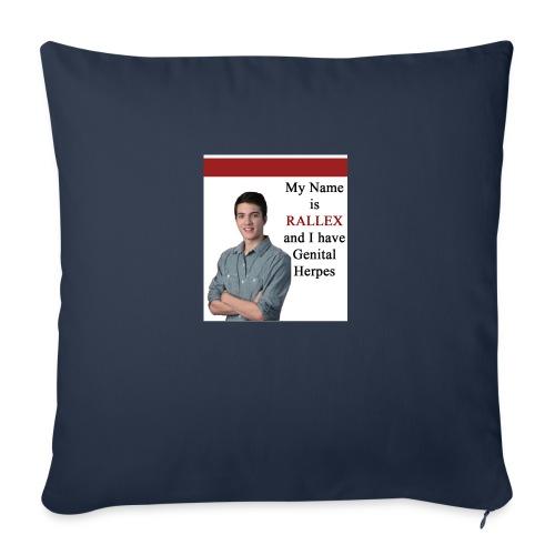 RALLEX - Sofa pillowcase 17,3'' x 17,3'' (45 x 45 cm)