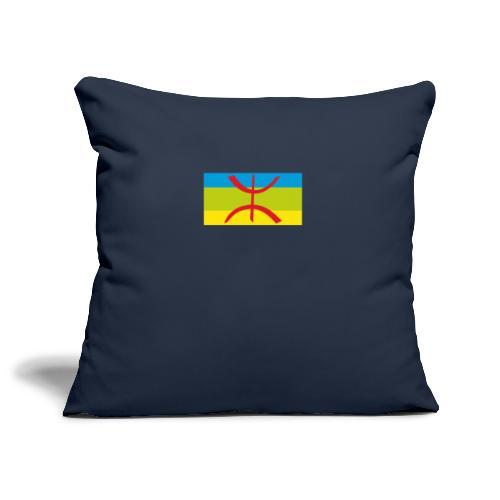 drapeau berbere tamazgha - Housse de coussin décorative 45x 45cm