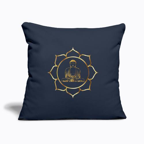 buddha - Sofa pillowcase 17,3'' x 17,3'' (45 x 45 cm)