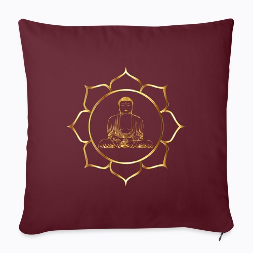 buddha - Sofa pillowcase 17,3'' x 17,3'' (45 x 45 cm)