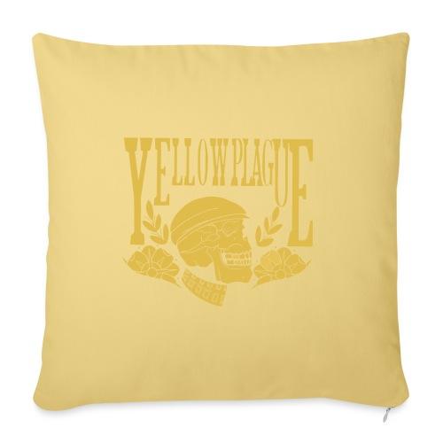 Yellow Plague Gold - Sohvatyynyn päällinen 45 x 45 cm