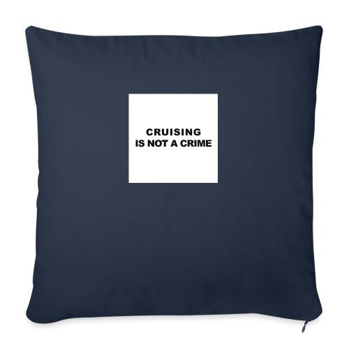badge009 - Housse de coussin décorative 45x 45cm