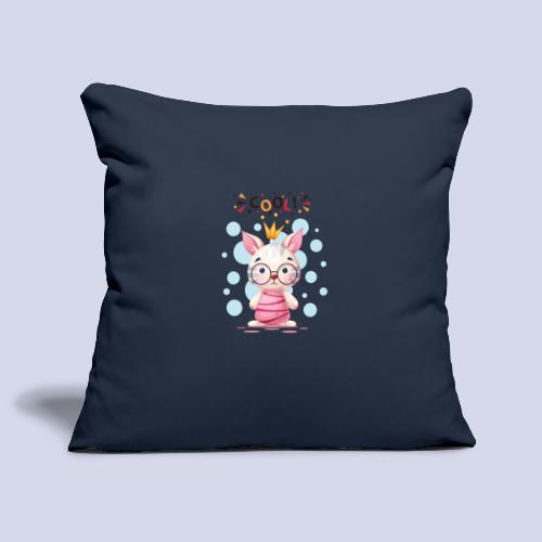 Nice Cat, Kitty Design for everyone - Sofa pillowcase 17,3'' x 17,3'' (45 x 45 cm)