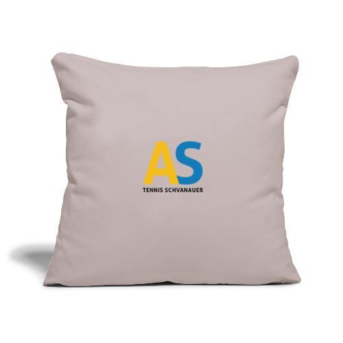 as logo - Copricuscino per divano, 45 x 45 cm
