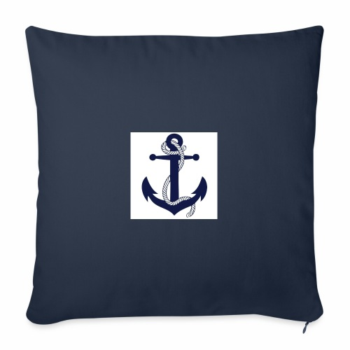 Anchor4 - Sofa pillowcase 17,3'' x 17,3'' (45 x 45 cm)
