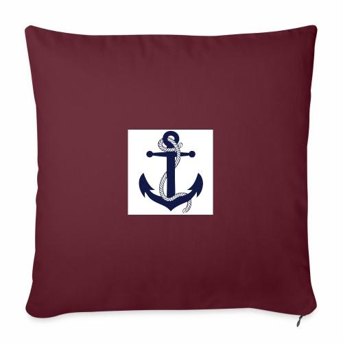 Anchor4 - Sofa pillowcase 17,3'' x 17,3'' (45 x 45 cm)