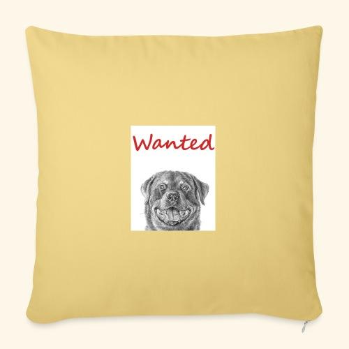 WANTED Rottweiler - Sofa pillowcase 17,3'' x 17,3'' (45 x 45 cm)