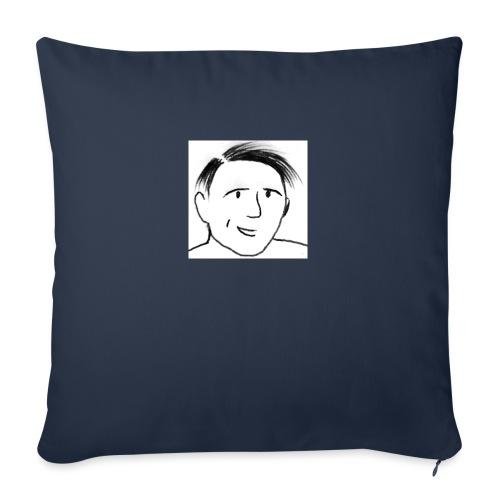 Prof Pon - Copricuscino per divano, 45 x 45 cm