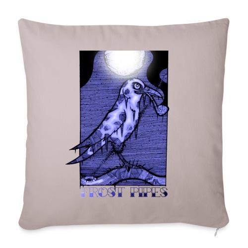 The Frost Crow - Sofa pillowcase 17,3'' x 17,3'' (45 x 45 cm)
