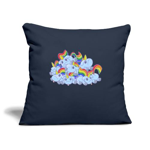 Moar unicorns! - Copricuscino per divano, 45 x 45 cm