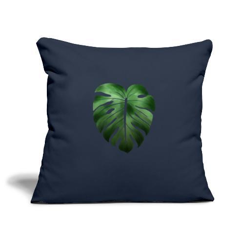 Foglia dalla Natura - Copricuscino per divano, 45 x 45 cm