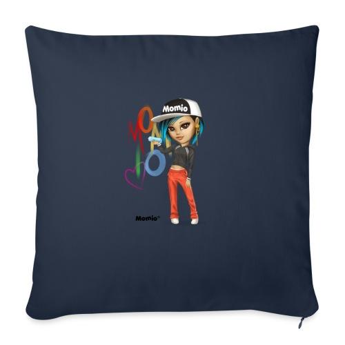 Maya - autorstwa Momio Designer Cat9999 - Poszewka na poduszkę 45 x 45 cm