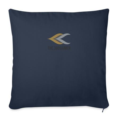 YouTube logo - Sofa pillowcase 17,3'' x 17,3'' (45 x 45 cm)