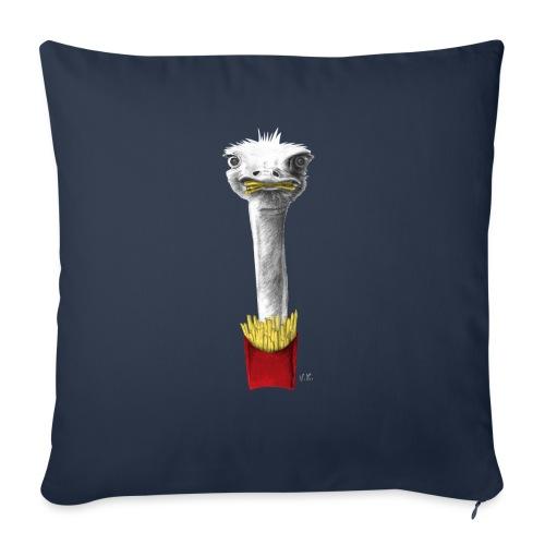 French Fries Lover - Sofa pillowcase 17,3'' x 17,3'' (45 x 45 cm)