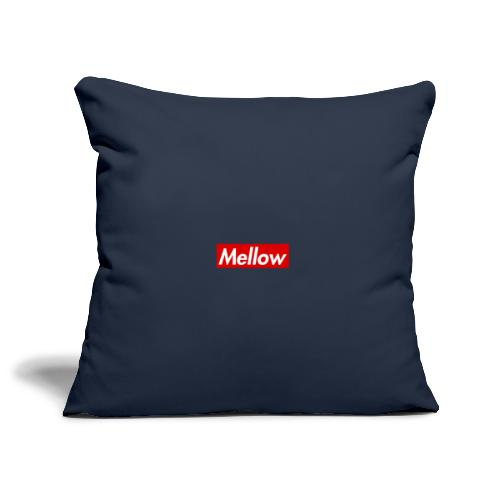 Mellow Red - Sofa pillowcase 17,3'' x 17,3'' (45 x 45 cm)