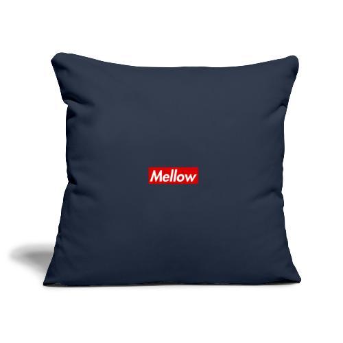 Mellow Red - Sofa pillowcase 17,3'' x 17,3'' (45 x 45 cm)