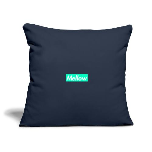 Mellow Light Blue - Sofa pillowcase 17,3'' x 17,3'' (45 x 45 cm)