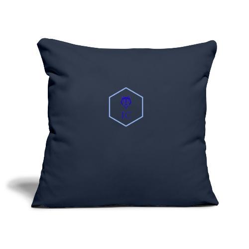 logo small - Copricuscino per divano, 45 x 45 cm