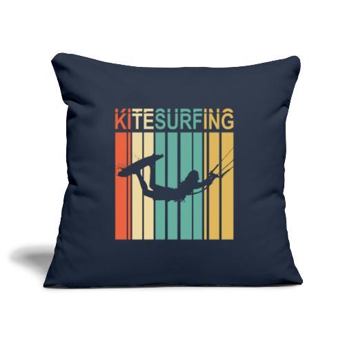 Kitesurfing - Housse de coussin décorative 45x 45cm