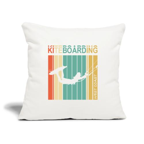 Kiteboarding WEST COAST - Housse de coussin décorative 45x 45cm