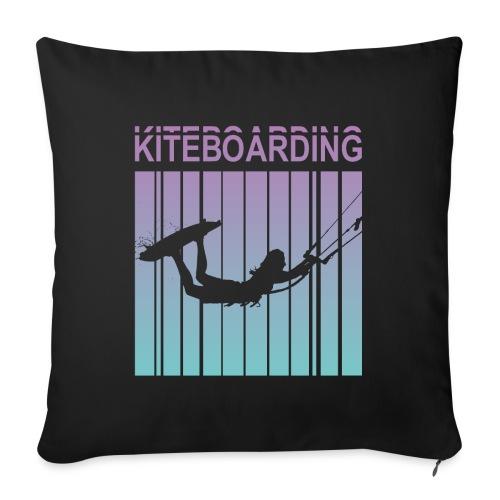 Kiteboarding - Sofa pillowcase 17,3'' x 17,3'' (45 x 45 cm)