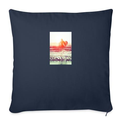 sunset surf jpg - Sofa pillowcase 17,3'' x 17,3'' (45 x 45 cm)