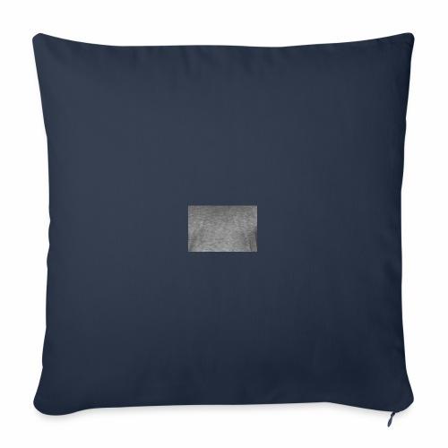 Camiseta cuadrado gris moderno - Funda de cojín, 45 x 45 cm