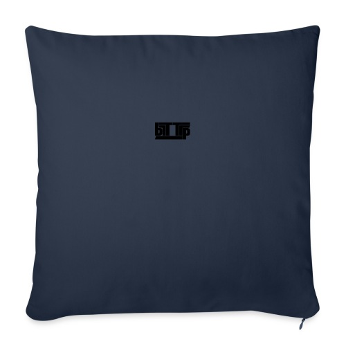 brttrpsmallblack - Sofa pillowcase 17,3'' x 17,3'' (45 x 45 cm)