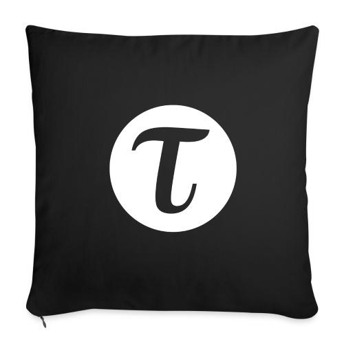 Tau logo iso inv vaate png - Sohvatyynyn päällinen 45 x 45 cm