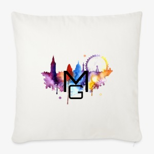 London Watercolour MG - Sofa pillow cover 44 x 44 cm