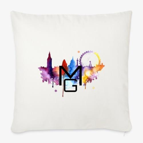 London Watercolour MG - Sofa pillow cover 44 x 44 cm