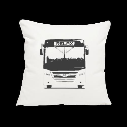 Relax bus - Sofa pillow cover 44 x 44 cm