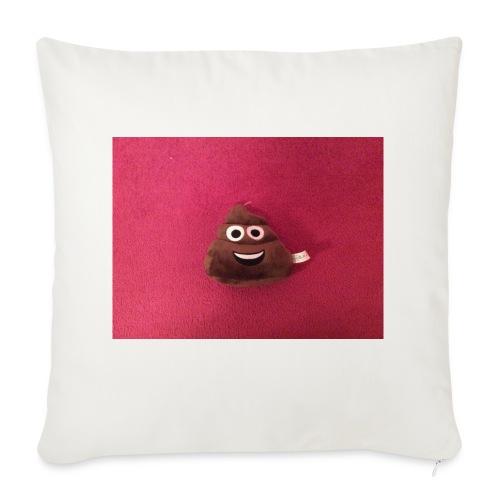 Poop Emoji Pillow - Sofa pillow cover 44 x 44 cm