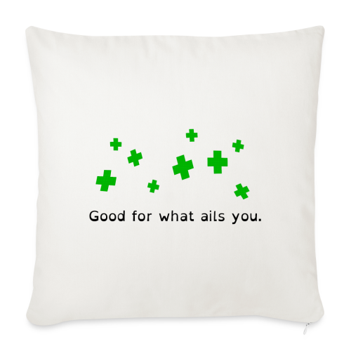 Good For What Ails You - Sofa pillow cover 44 x 44 cm