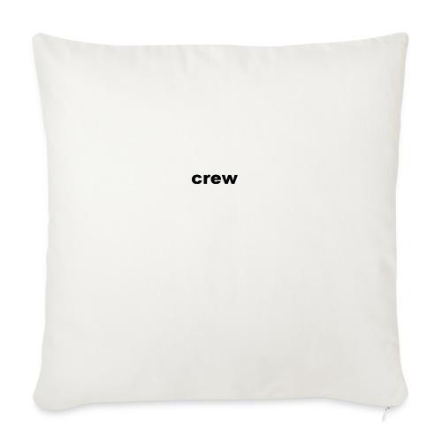 crew kleding - Sierkussenhoes, 44 x 44 cm