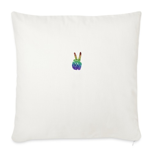 peace fingers - Sofa pillow cover 44 x 44 cm