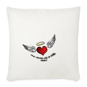 angel heart 1 - Housse de coussin décorative 44x 44cm