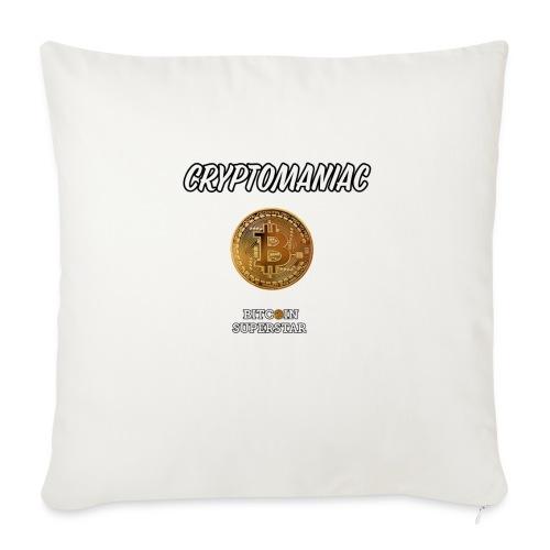 Cryptomaniac - Copricuscino per divano, 44 x 44 cm